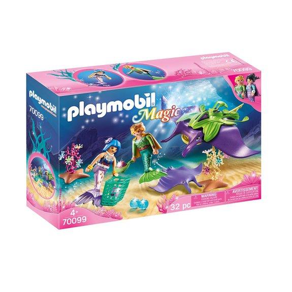Chercheurs de perles et raies Playmobil Magic 70099