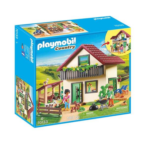 Maisonnette des fermiers Playmobil Country 70133