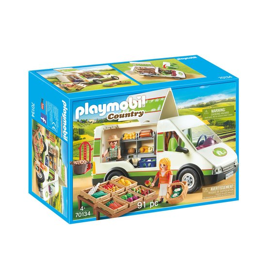 Camion de marché Playmobil Country 70134