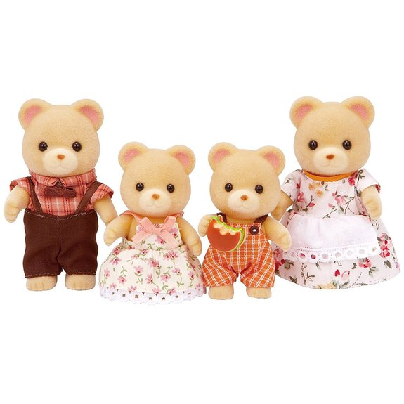 Famille ours - Sylvanian Family 3150