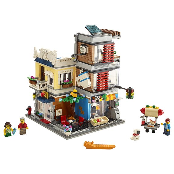 L'animalerie et le café LEGO® Creator 3-en-1 31097