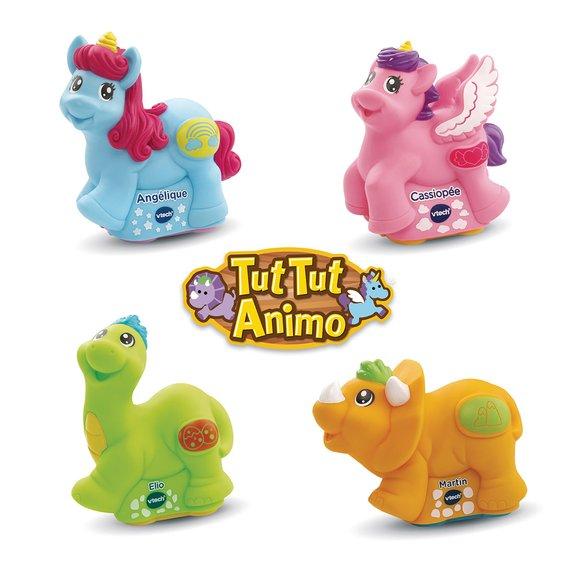 Tut Tut Animo - Licornes et dinos colorés