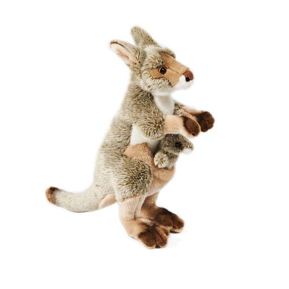 Kangourou et son bébé 35 cm