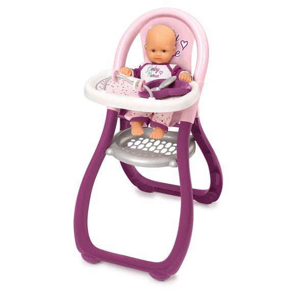 Chaise haute Baby Nurse pour poupon