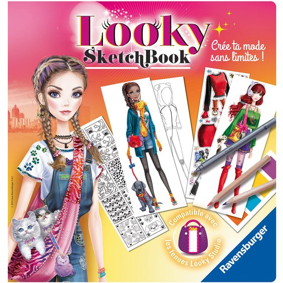 Looky Sketch book petits animaux