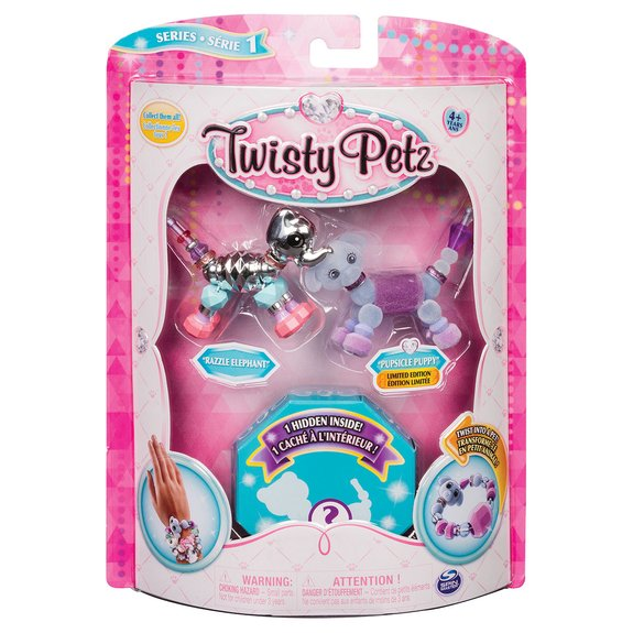 PACK DE 3 TWISTY PETZ