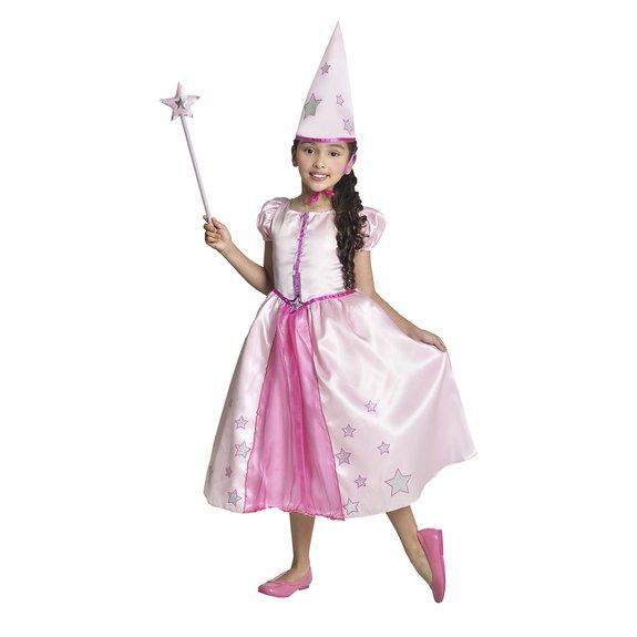 Déguisement fée magicienne 5-7 ans