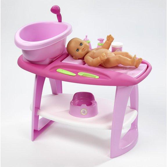 Table à langer et baignoire pour bébé