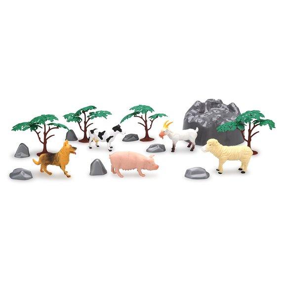 Set de jeu animaux de la ferme