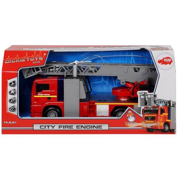 Camion de pompier sonore 31 cm