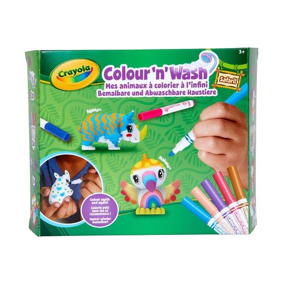 Kit Color'n wash Pets Safari