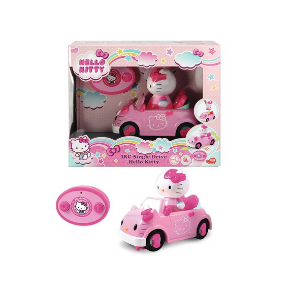 Voiture décapotable radiocommandée Hello Kitty