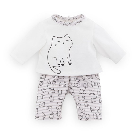 Pyjama 2 pièces chat Ma Corolle