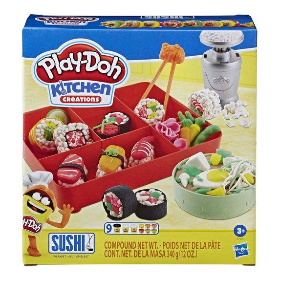Menu sushis Play-Doh