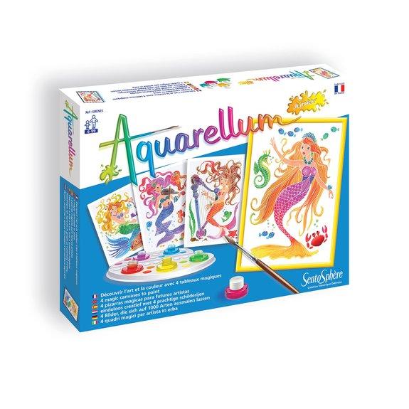 Aquarellum junior : Sirènes