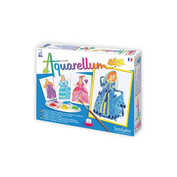 Aquarellum junior : Princesses