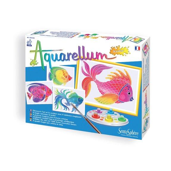 Aquarellum junior : Poissons