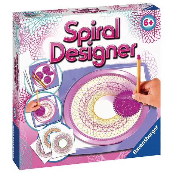 Spiral Designer Midi Girl