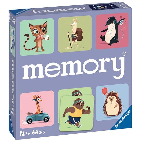 Grand Memory Le monde sauvage des animaux