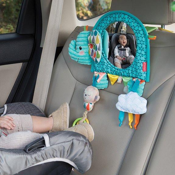 Éléphant Miroir pour siège auto Gogaga