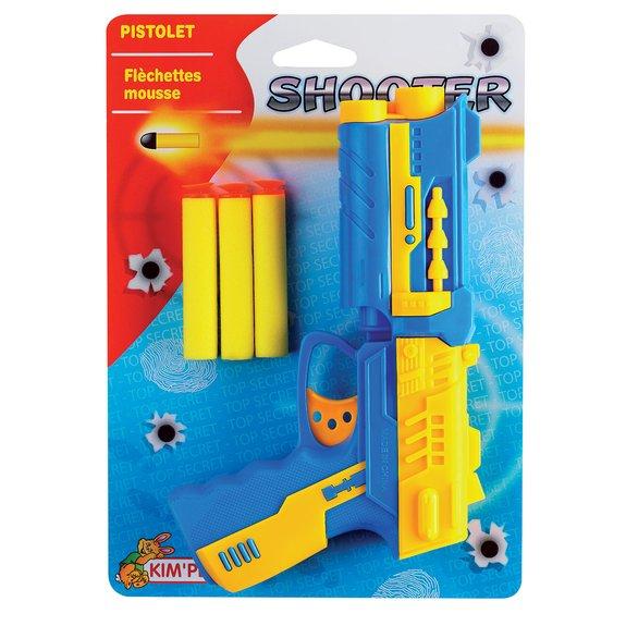 Pistolet Fléchettes mousse
