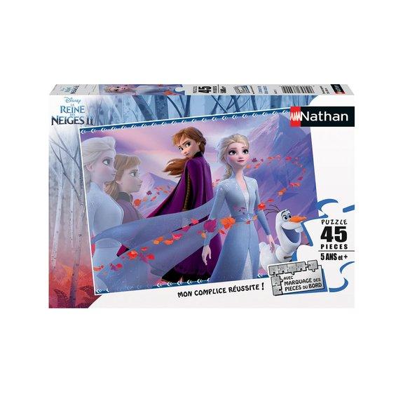 Puzzle 45 pièces - L'amour de deux surs - Disney La Reine des Neiges 2