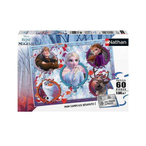 Puzzle 60 pièces - Unis pour la vie - Disney La Reine des Neiges 2