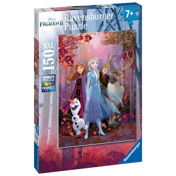 Puzzle 150 pièces XXL - Une aventure fantastique - Disney La Reine des Neiges 2