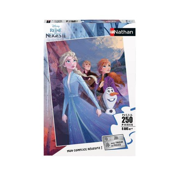 Puzzle 250 pièces - Prêts pour l'aventure - Disney La Reine des Neiges 2