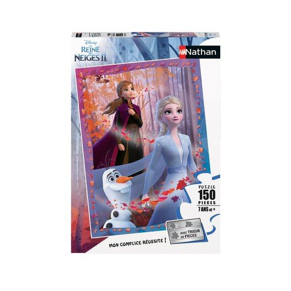 Puzzle 150 pièces - Elsa, Anna et Olaf - Disney La Reine des Neiges 2