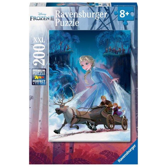Puzzle 200 pièces XXL - La forêt mystérieuse - Disney La Reine des Neiges 2