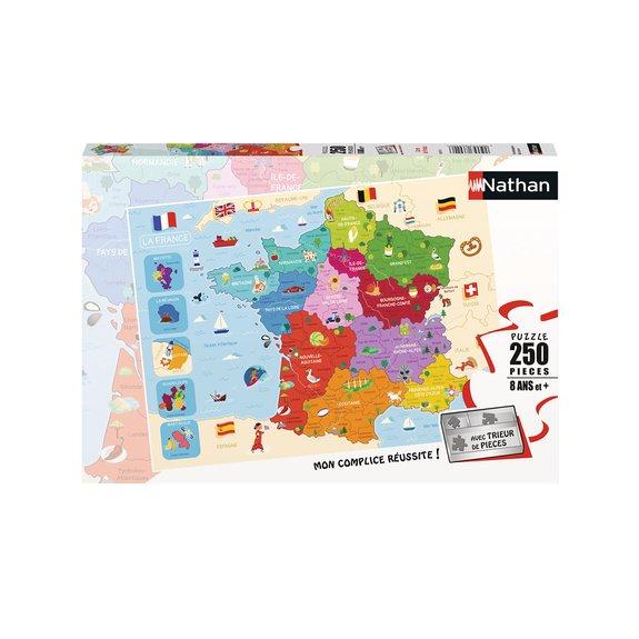 Puzzle 250 pièces - Carte de France
