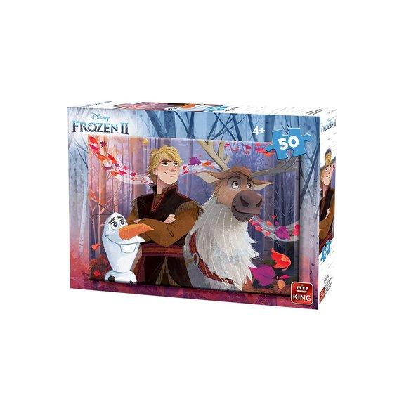 Puzzle 50 pièces King - Disney La Reine des Neiges