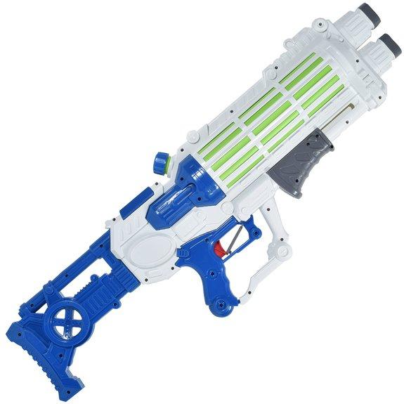 Pistolet mitrailleur à eau pompe 74 cm avec bandoulière