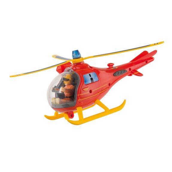 Sam Le Pompier océan hélicoptère