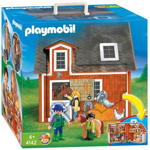 Ferme transportable Playmobil 4142