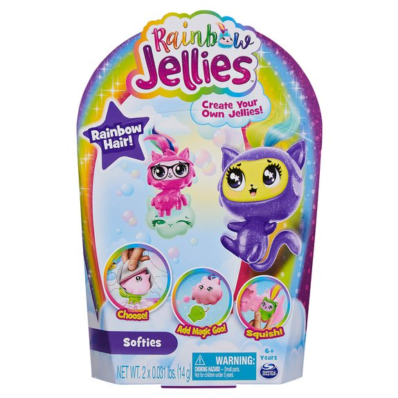 Pack de 2 figurines Rainbow Jellies