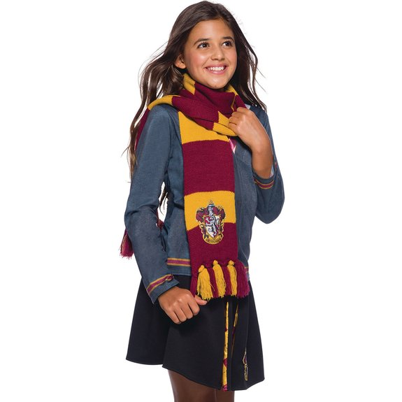 Déguisement Harry Potter - écharpe luxe Gryffondor