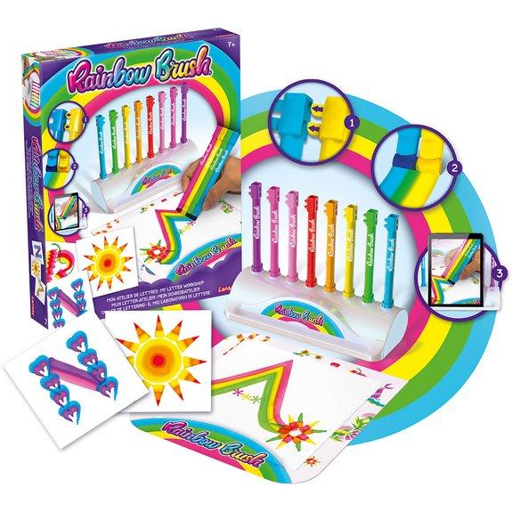 Rainbow Brush : Mon atelier de lettres