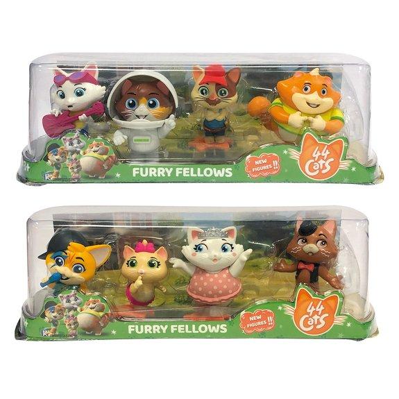 Set de 4 figurines 44 Chats