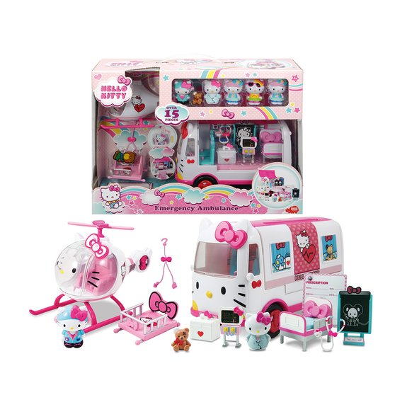 Playset de secours Hello Kitty