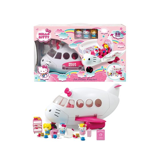 Playset avion Hello Kitty
