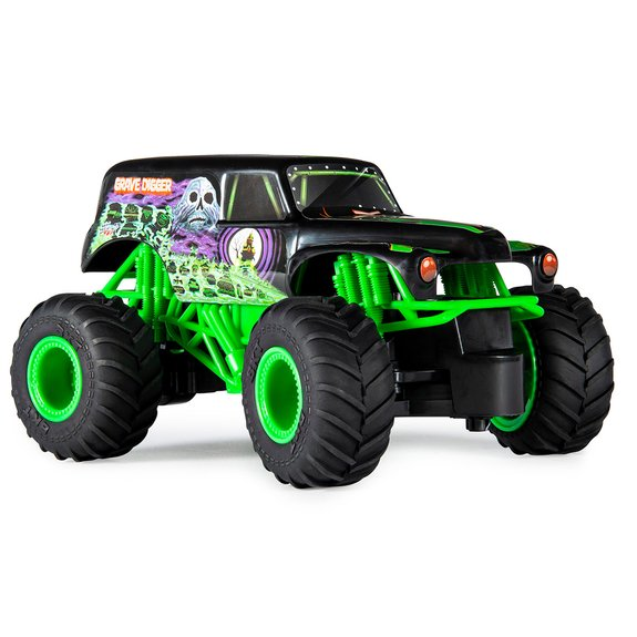 Monster Truck radiocommandé Monster Jam Grave Digger
