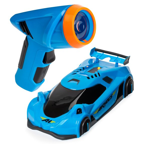 Voiture radiocommandée Zero Gravity Laser Bleue Air Hogs