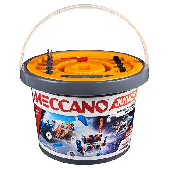 Baril 150 pièces Meccano Junior
