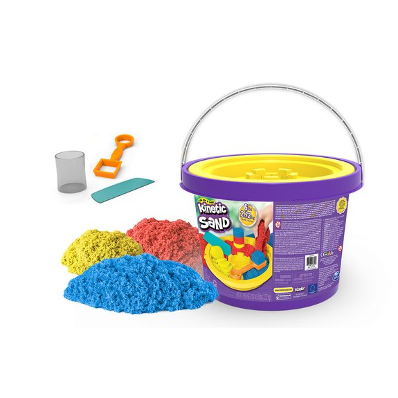 Seau de sable magique Kinetic Sand