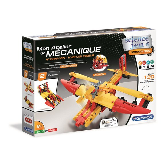 Mon atelier de mécanique : Hydravion et Aéroglisseur