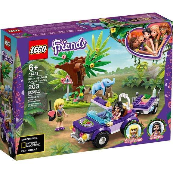Le sauvetage du bébé éléphant LEGO Friends 41421