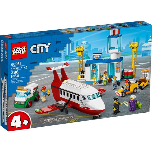 L'aéroport central LEGO City 60261