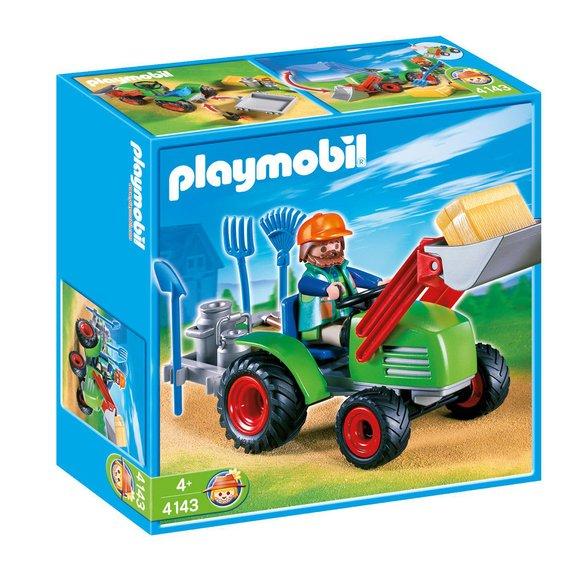 Agriculteur avec tracteur Playmobil Country 4143